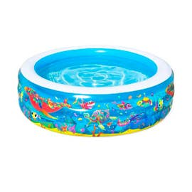 PISCINA INFLABLE 3 AROS 60'X20' PECES